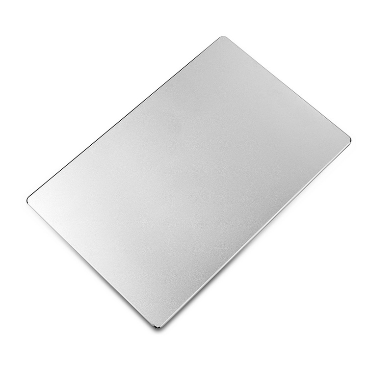 Metal mouse pad Silver